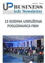 Newsletter broj 49 - April 2017
