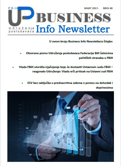 Newsletter broj 48 - Mart 2017